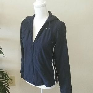 NIKE HOODED JACKET SZ SMALL (4-6)